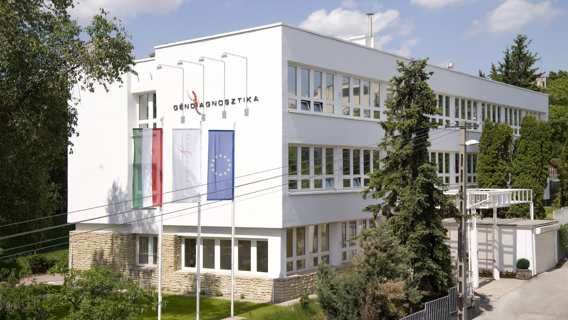 Az Istenhegyi Géndiagnosztikai Centrum épülete