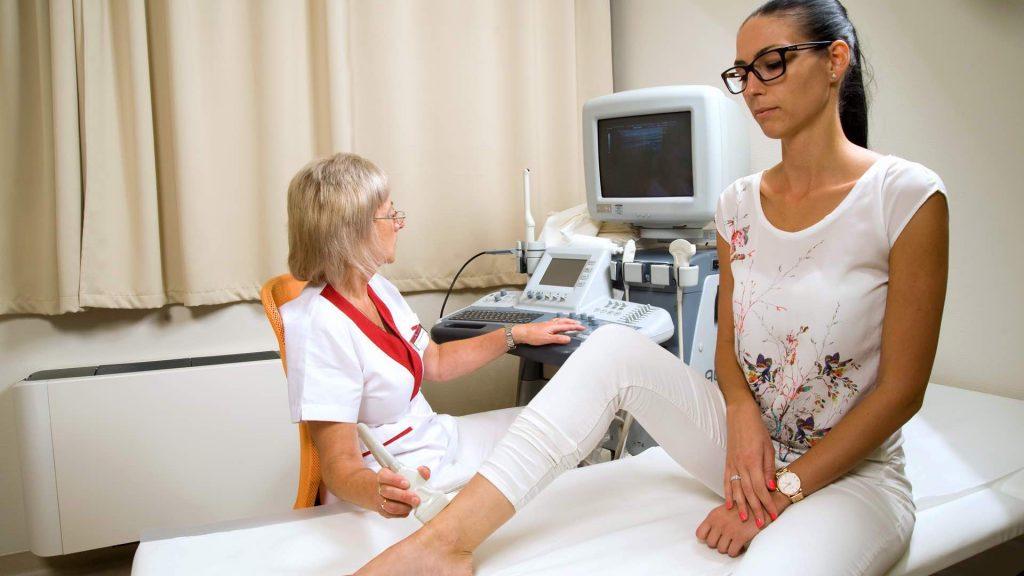 Alsó végtag ultrahang vizsgálata