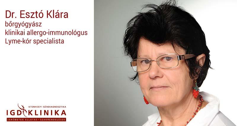 Dr. Esztó Klára