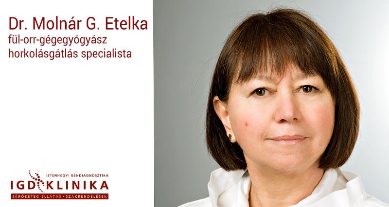 Dr. Molnár G. Etelka