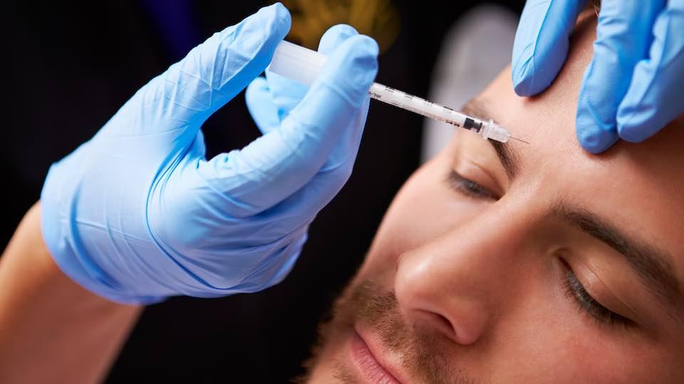 Glabella botoxos kezelése