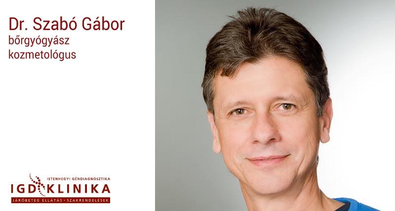 Dr. Szabó Gábor bőrgyógyász kozmetológus